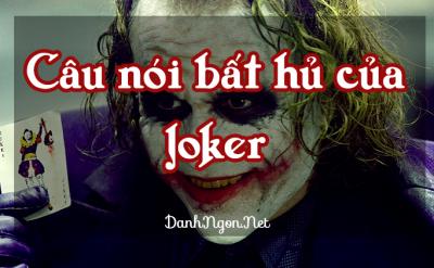 câu nói hay Joker